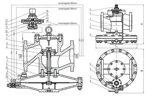 Мембрана рабочая РДУК-2-100